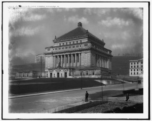 The Soldier's Memorial Hall, between 1920 and 1920.