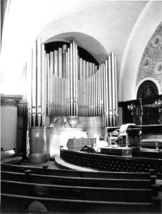 Interior of church, 1929