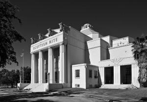 The Scottish Rite Temple in 1922; Miami, Florida.