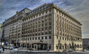 The historic Hotel Washington, photo taken in 2012.